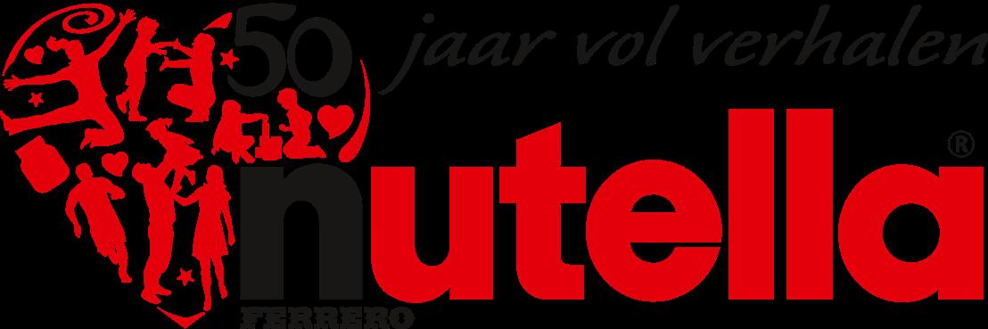 Logo Nutella 50 jaar