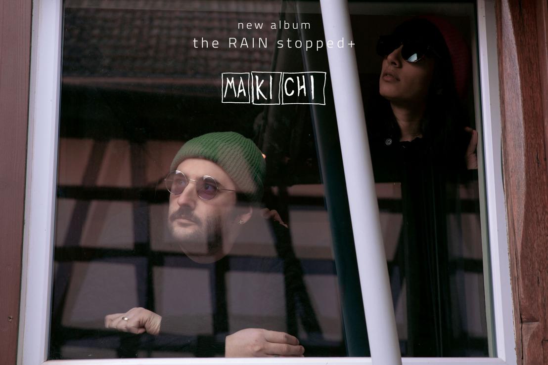 """MAKICHI : le duo iranien vous présente son nouvel album """"The Rain Stopped"""""""