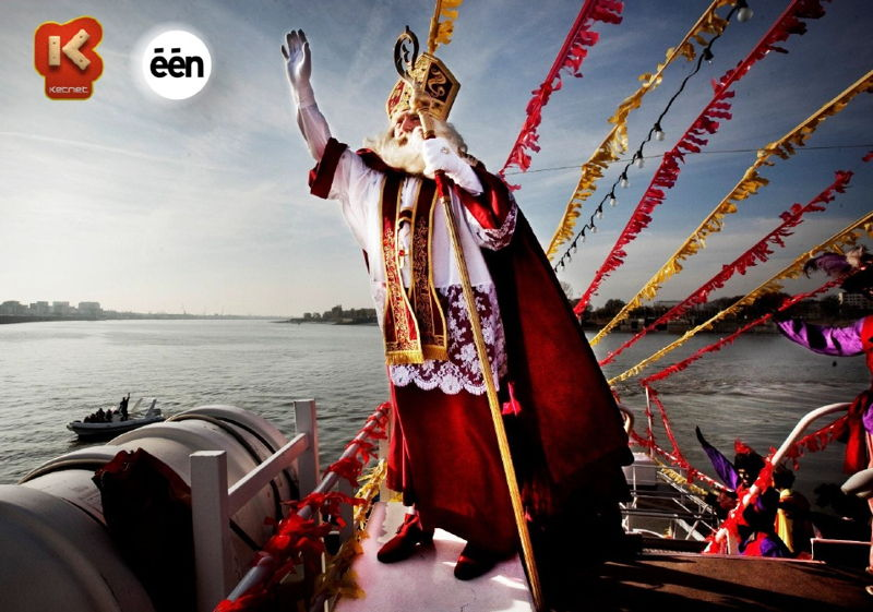 Hij komt, hij komt! - De intrede van de Sint in Antwerpen - (c) VRT - Sylvester Productions