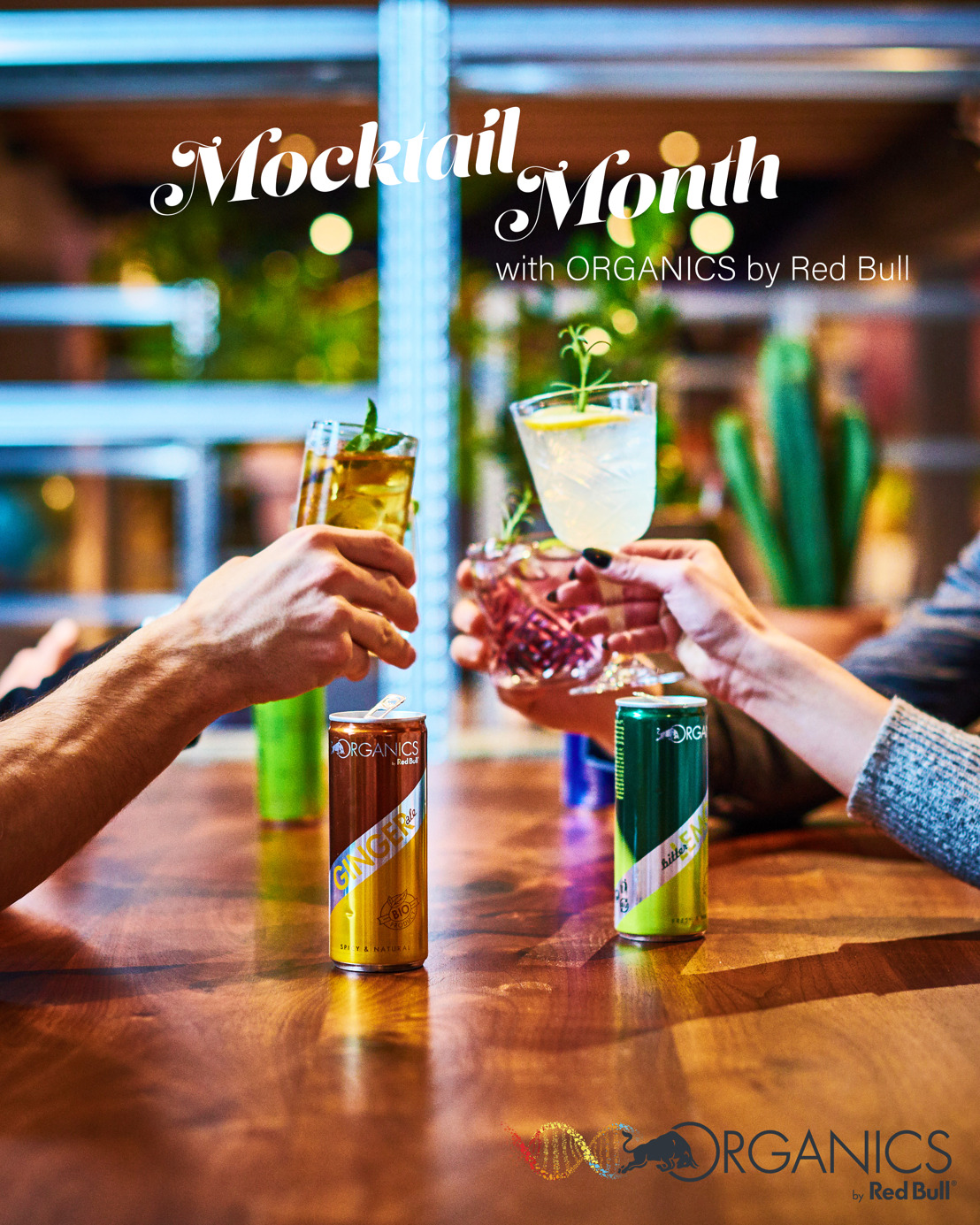 Mocktails met ORGANICS by Red Bull