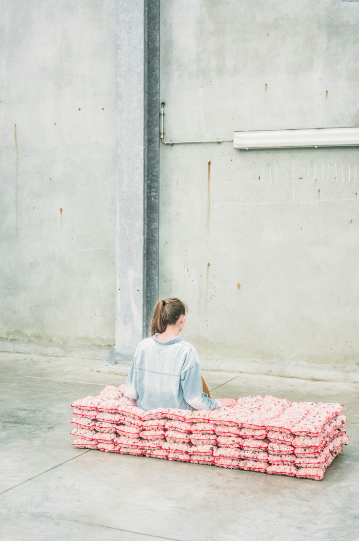 Textielatelier Magalie Delbeke © Kimberley Dhollander