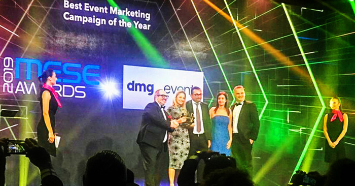 INDEX Dubai's design show wins Best Event Marketing Campaign of the Year at the Middle East Special Awards 2019