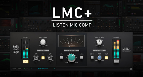 Solid State Logic Launches New LMC+ Classic Compressor Plug-in