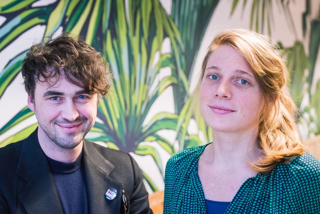 Lode Uytterschaut et Katrien Dewijngaert, founders Start it @kbc