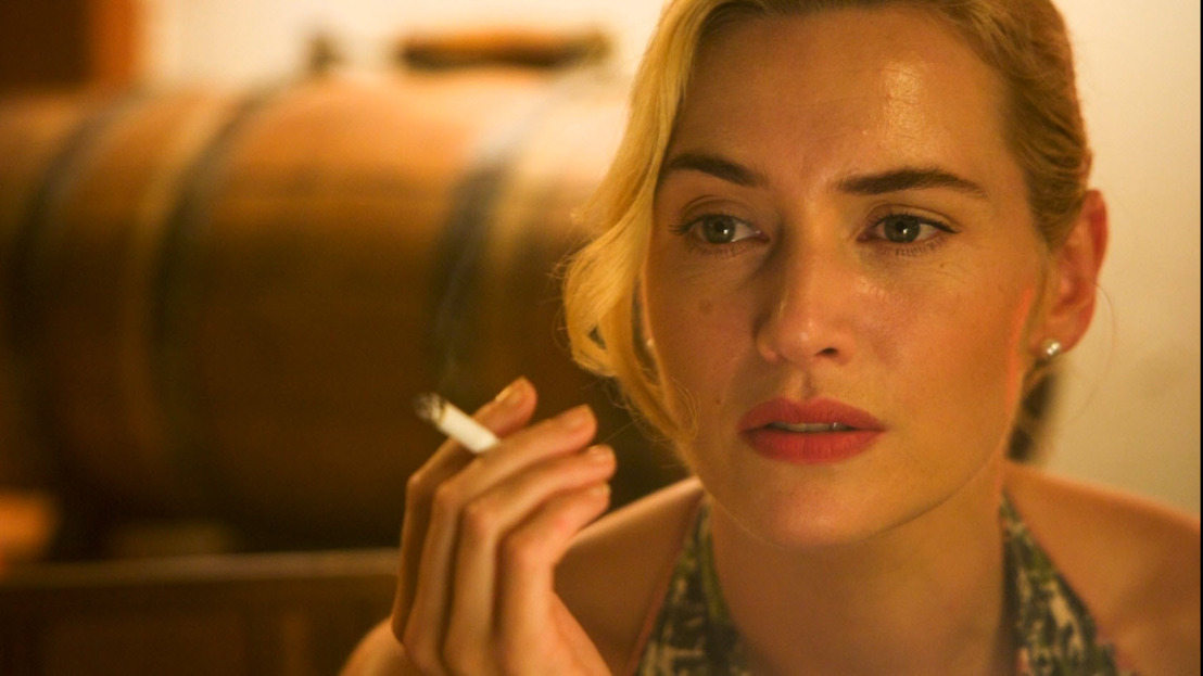 Kate Winslet kwartet op Canvas