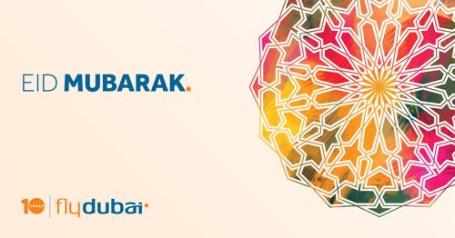 Eid Mubarak from flydubai