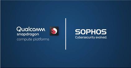 Preview: Sophos zorgt met Intercept X voor next-generation Always-Connected 5G pc-cyberbeveiliging voor Qualcomm Snapdragon-computerplatform