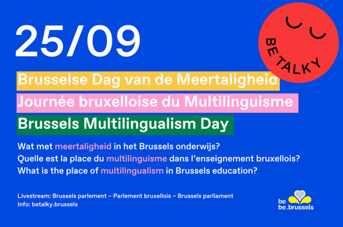 The second Brussels Multilingualism Day will highlight the diversity of languages in Brussels schools.