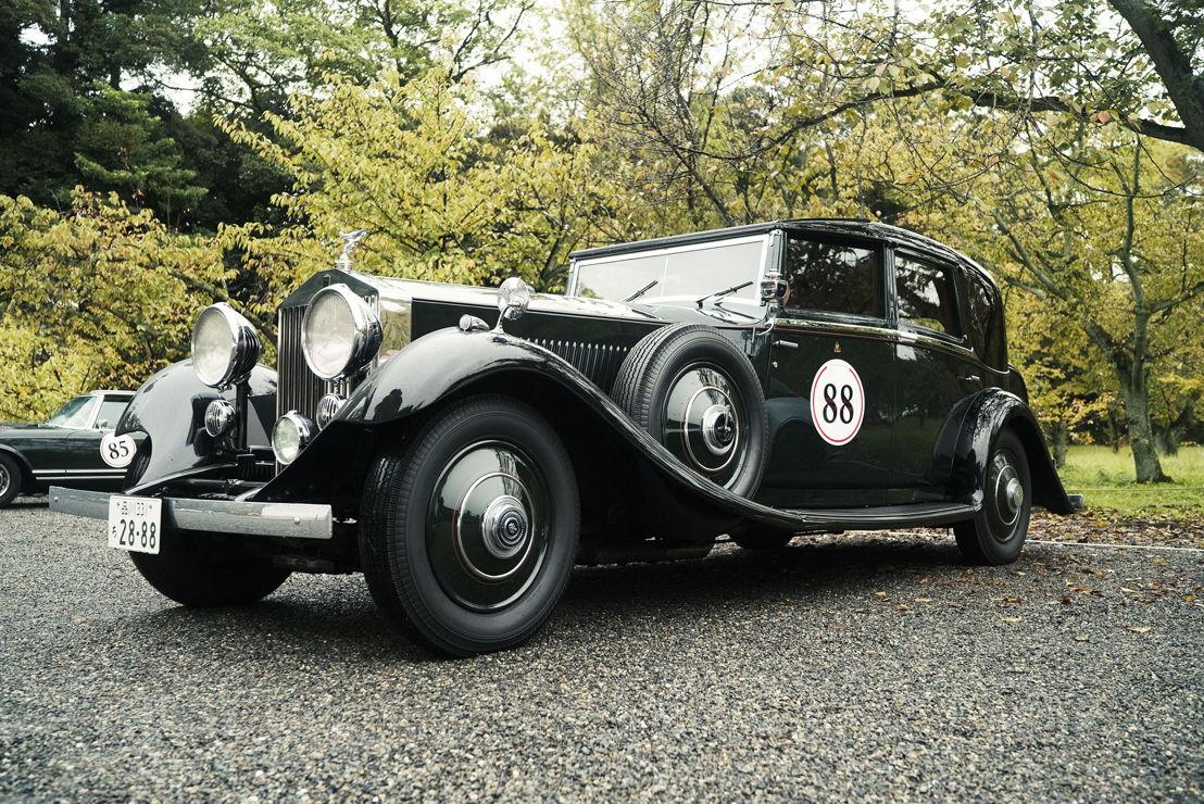 Car model: The Peninsula Tokyo's 1934 Rolls Royce Phantom II