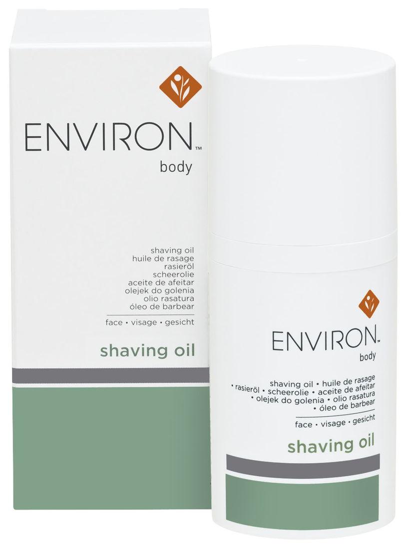 ENVIRON Shaving oil : 39,90 €.