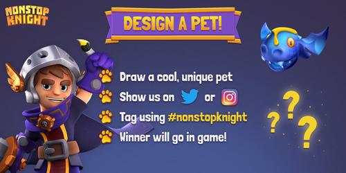 """""""Design dein Pet""""- Wettbewerb für Nonstop Knight gestartet"""