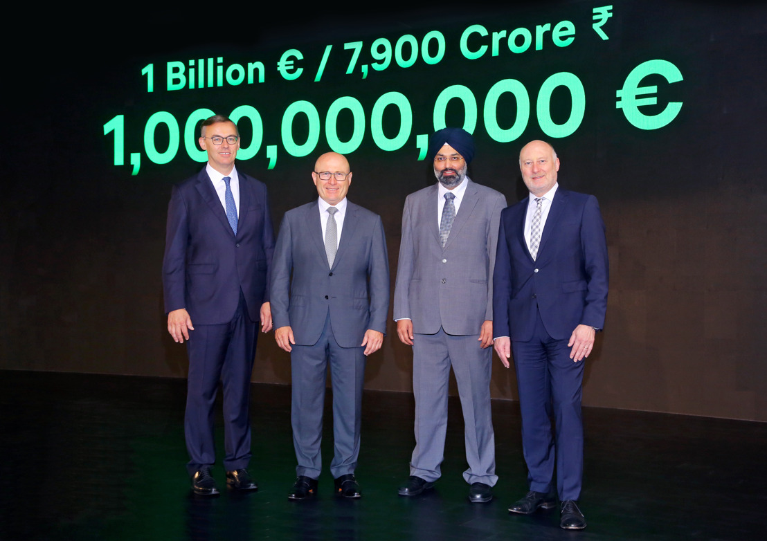 'INDIA 2.0': Volkswagen Group invests one billion euros in project led by ŠKODA AUTO