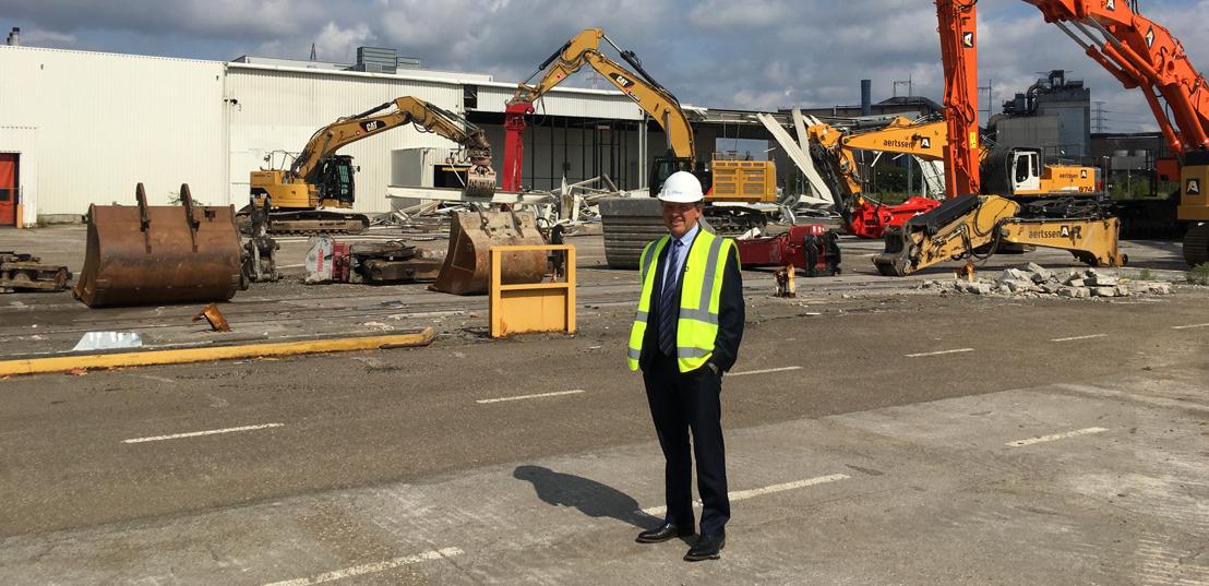 3 miljoen euro voor nieuwe werkgelegenheid op oude Ford Genk-site