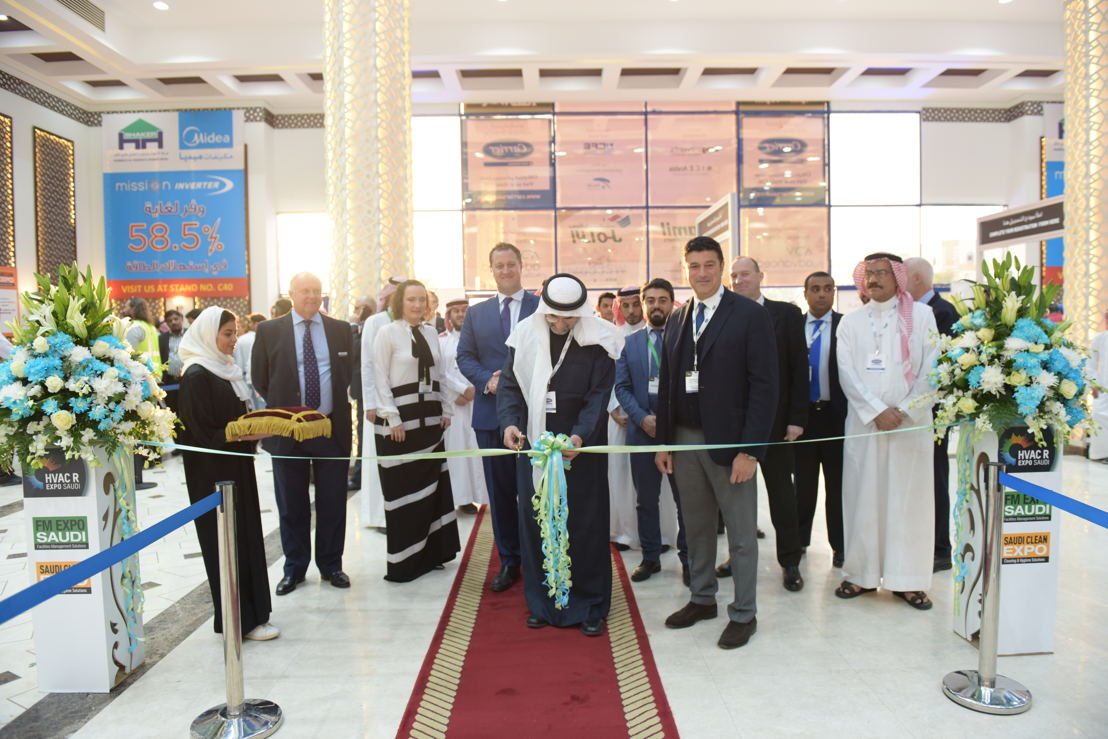 Opening of HVACR Expo Saudi 2018 and FM EXPO Saudi & Saudi Clean Expo
