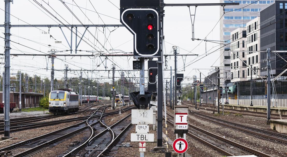 Verlengde weekends 1-3 en 9-11 november: Alternatieve treindienst door werken aan zuidkant van Brusselse Noord-Zuidverbinding