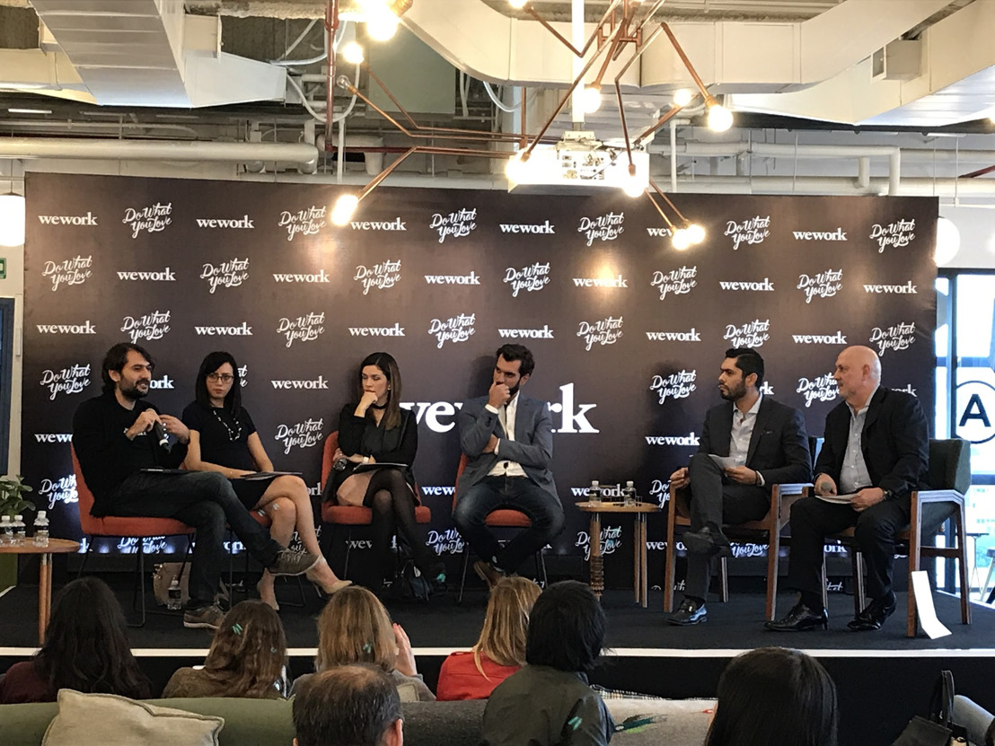 El emprendimiento crece y tiene el potencial para cambiar el panorama de competitividad en el país: primer panel de miembros de WeWork México