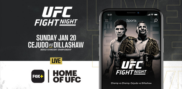 Preview: Video-Streaming Service FOX+ is Now the Home of UFC in the Philippines
