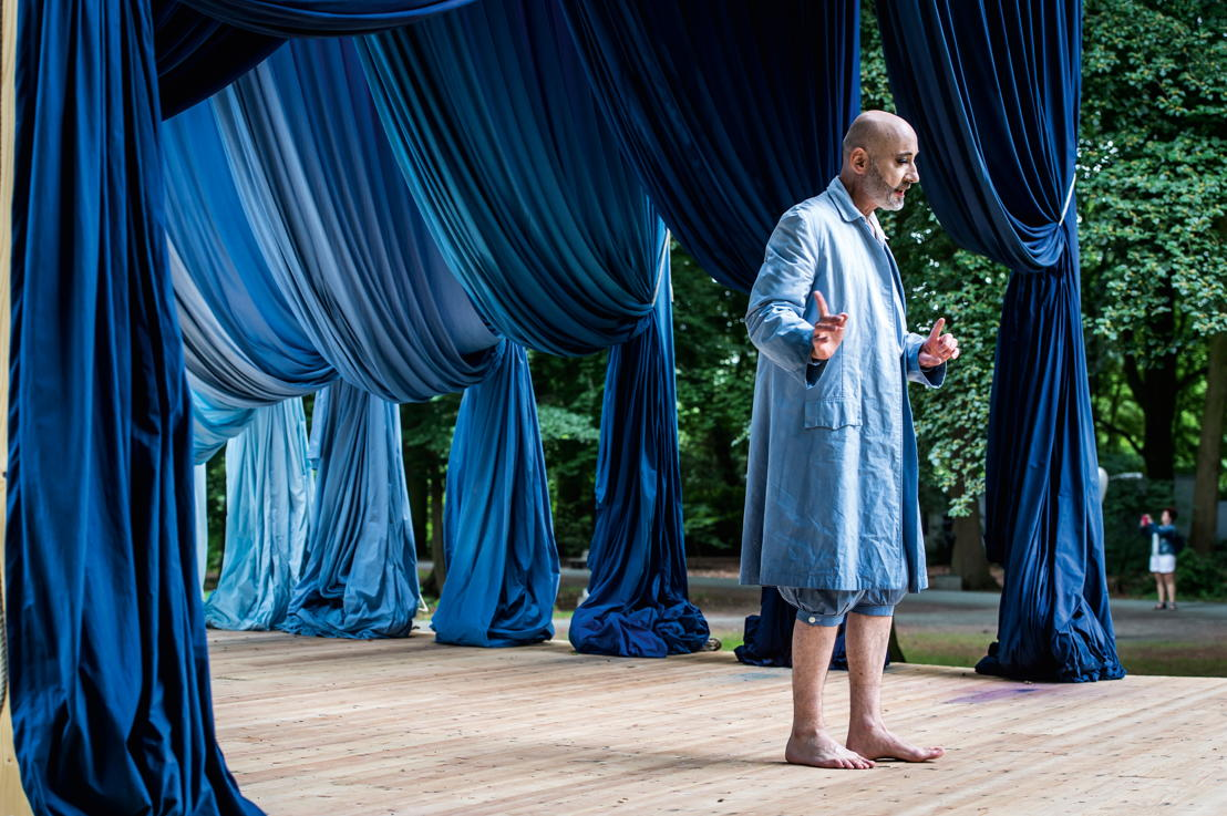 EXPERIENCE TRAPS<br/>Ulla von Brandenburg, Le Soleil te regarde (performance by Benoit Resillot), 2018 - courtesy the artist - photo: Tom Cornille