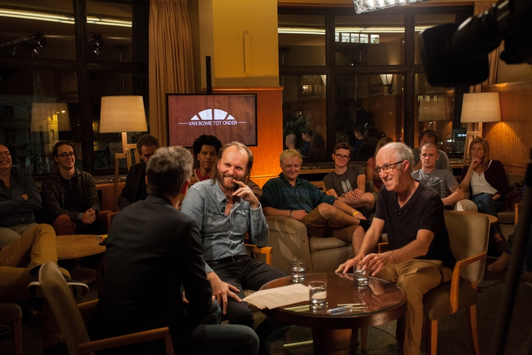 Studio Flagey - Van Bowie tot onder : Bart Peeters, Tom Van Laere, Raymond Van het Groenewoud - (c) Inne Vandaele / VRT
