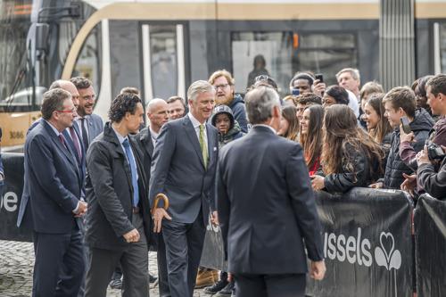 Koning Filip onthult de «Tram New Generation»
