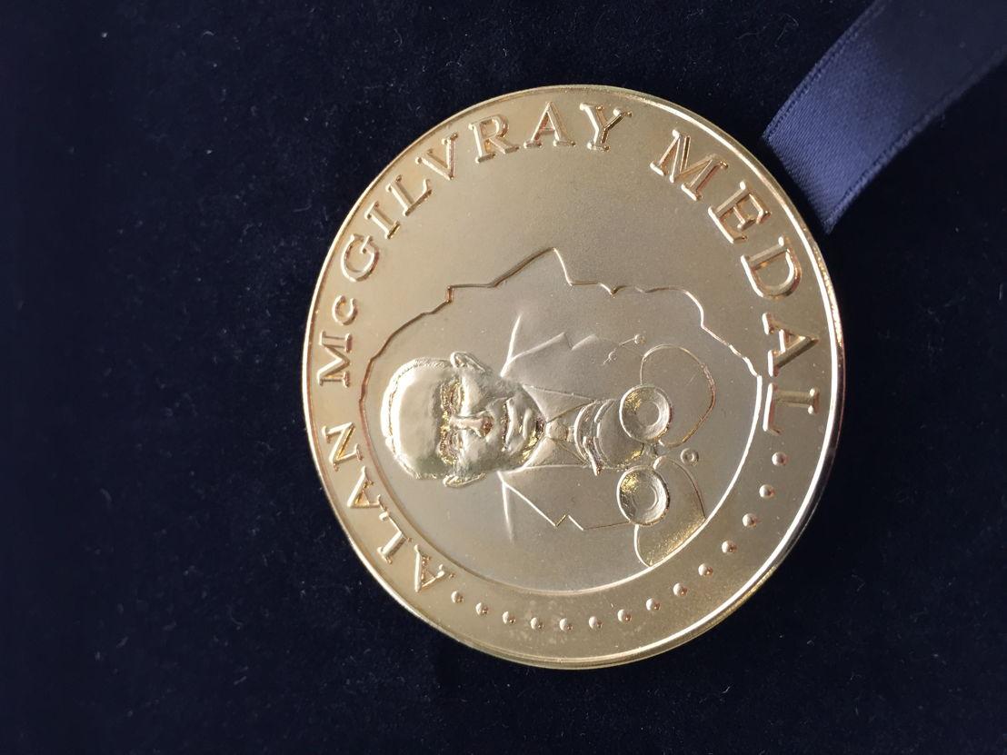 Alan McGilvray Medal 02