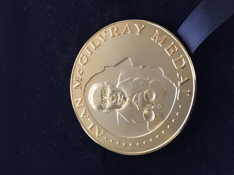 Alan McGilvray Medal 02