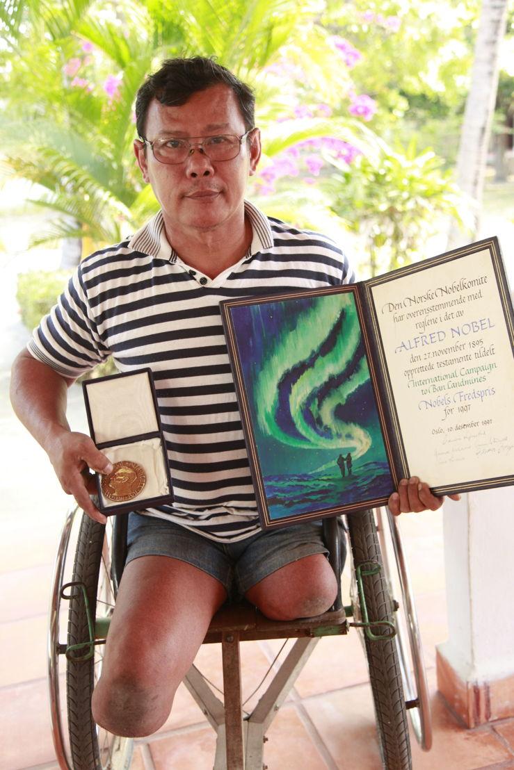 Cambodia 2014, Thun Channareth Nobel Price