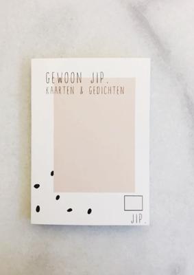 Gewoon JIP Scheurboekje, roze - postkaarten 17,50€