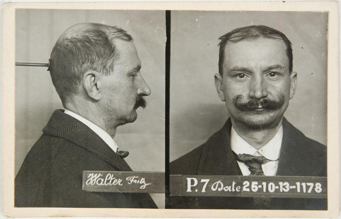 Collectie In Transit - Anoniem, Gerechterlijke portretten naar de methode van Rudolf Pöch, circa 1910