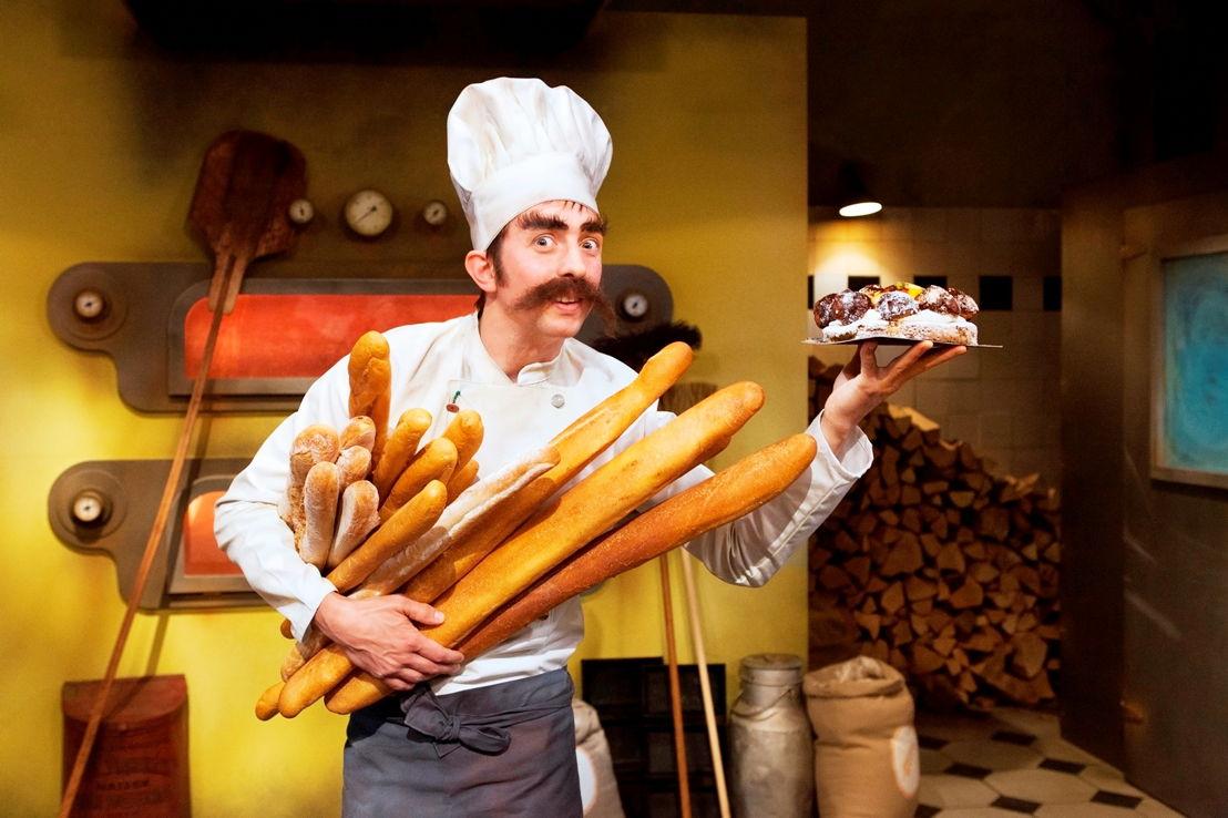 Oude taart: Robrecht Vanden Thoren als bakker Marcel - (c) VRT