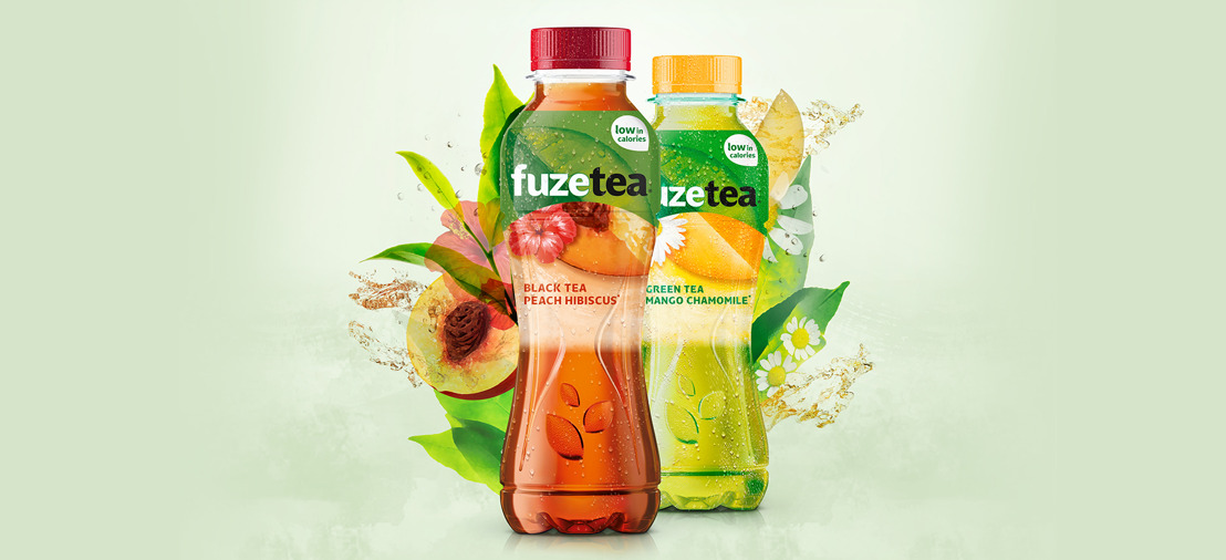 Air sips on Coca-Cola's new Fuze Tea.