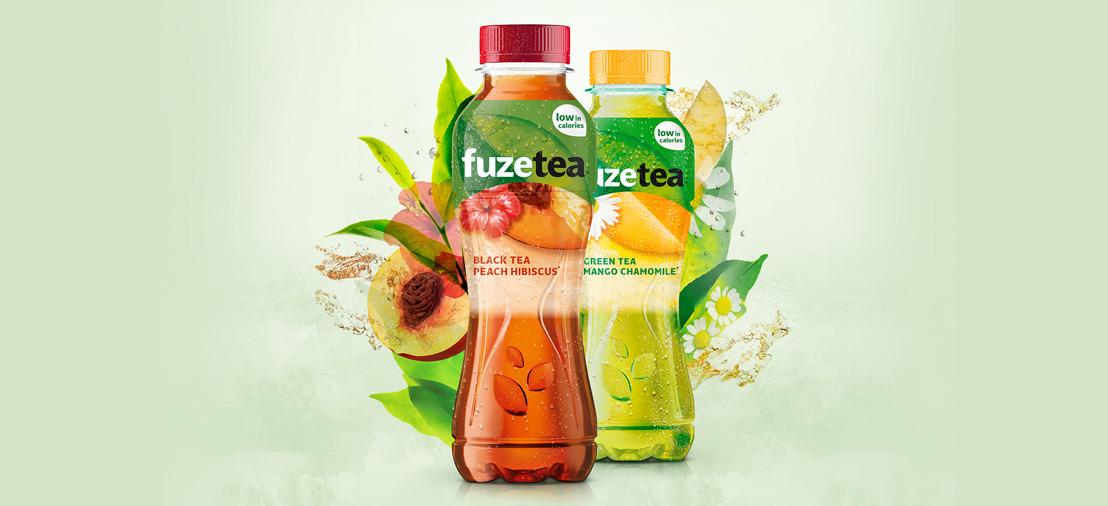 Air sips on Coca-Cola's new Fuze Tea.