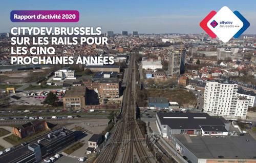 Le rapport d'activité 2020 de citydev.brussels est en ligne !