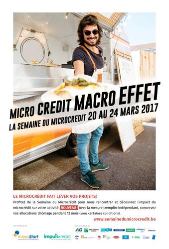 Save the date – Le « tremplin-indépendant » à l'honneur de la Semaine du Microcrédit, du 20 au 24 mars 2017