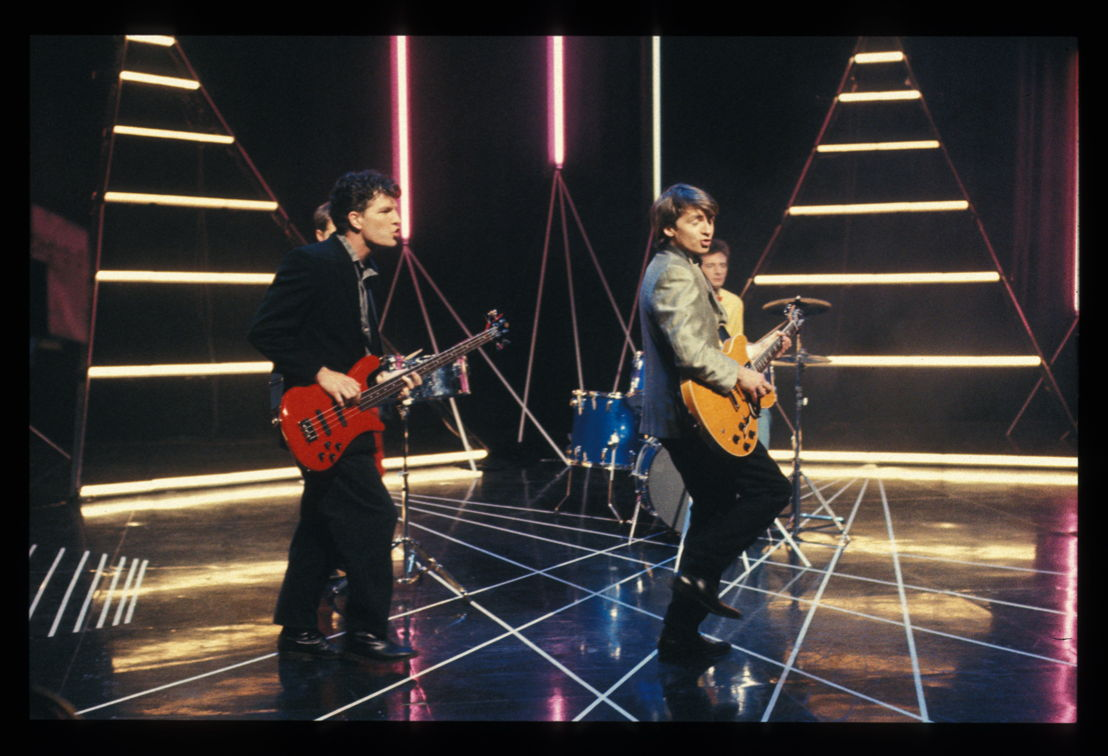 Split Enz perform on Countdown