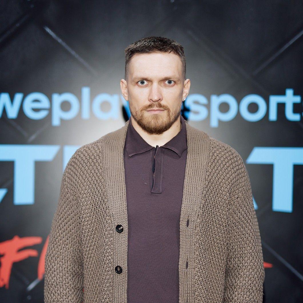 Oleksandr Usyk, world cruiserweight boxing champion. Photo: WePlay Esports