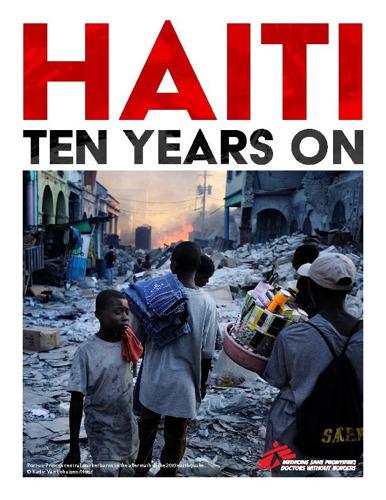 Tien jaar na de aardbeving staat de gezondheidszorg in Haïti op de rand van de afgrond