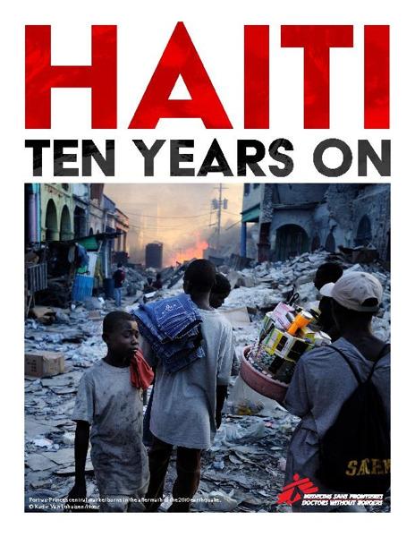 Preview: Tien jaar na de aardbeving staat de gezondheidszorg in Haïti op de rand van de afgrond