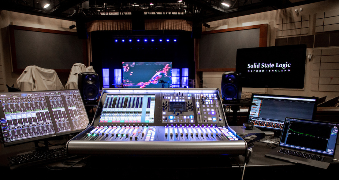 Houston's Sagemont Church Upgrades to Solid State Logic L350