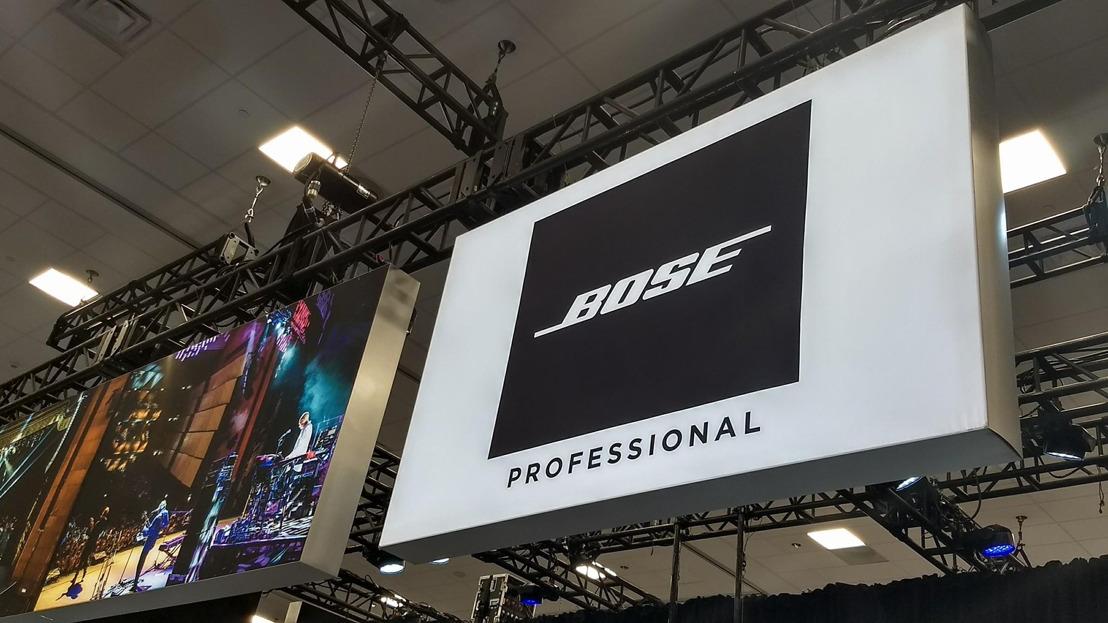 Bose Profesional presente en la edición 2019 de The NAMM Show