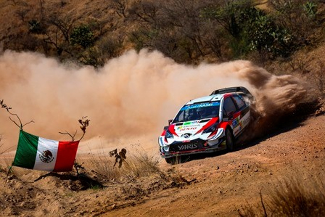 WRC Rally Mexico Preview - TOYOTA GAZOO Racing aims to continue its strong start in the Mexican heat