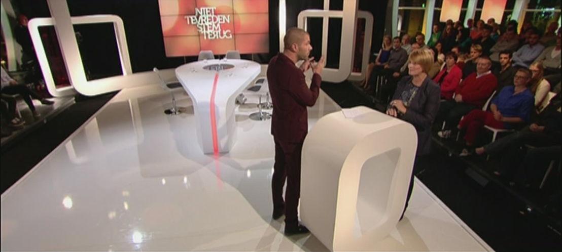 Katja van Putten in tv-programma bij Kobe Ilsen - (c) Borgerhoff & Lamberigts