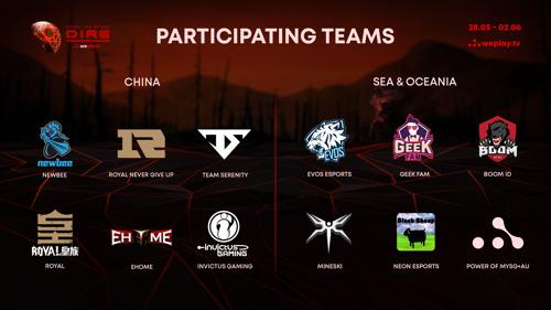 В WePlay! огласили список участников турнира Tug of War: Dire
