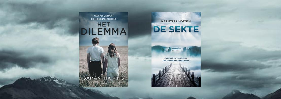 'Het dilemma' en 'De sekte' - Twee herfstige thrillers van de bovenste plank