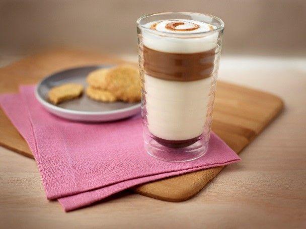 Latte Macchiato à la crème-brûlée