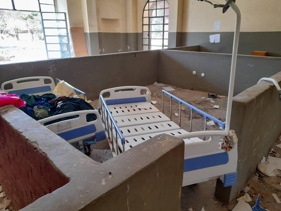 Health facilities targeted in Ethiopia's Tigray region