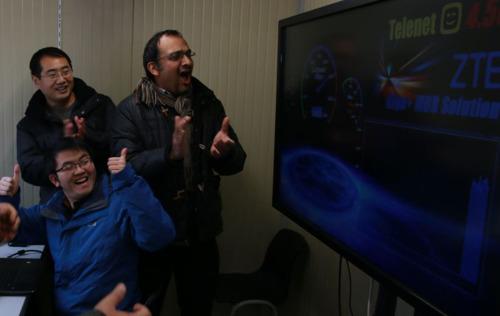 Telenet en ZTE breken Europees snelheidsrecord 4,5G
