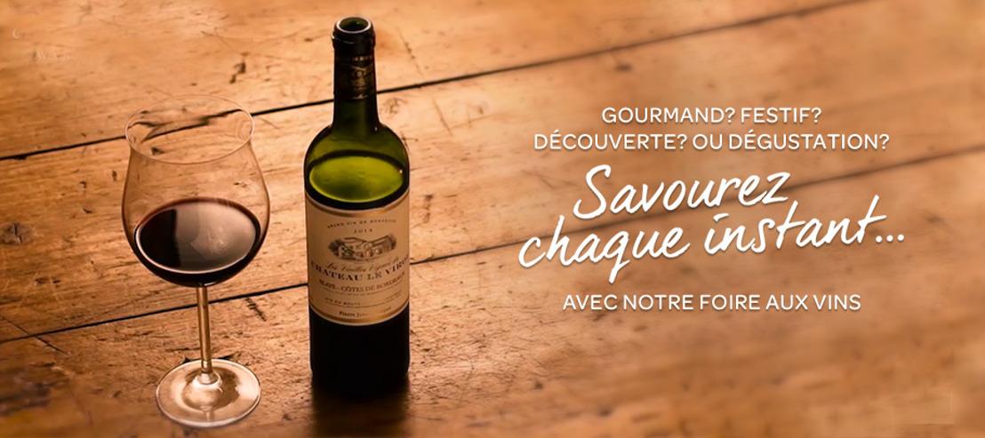 Prophets et les hypermarchés Carrefour bonifient le vin