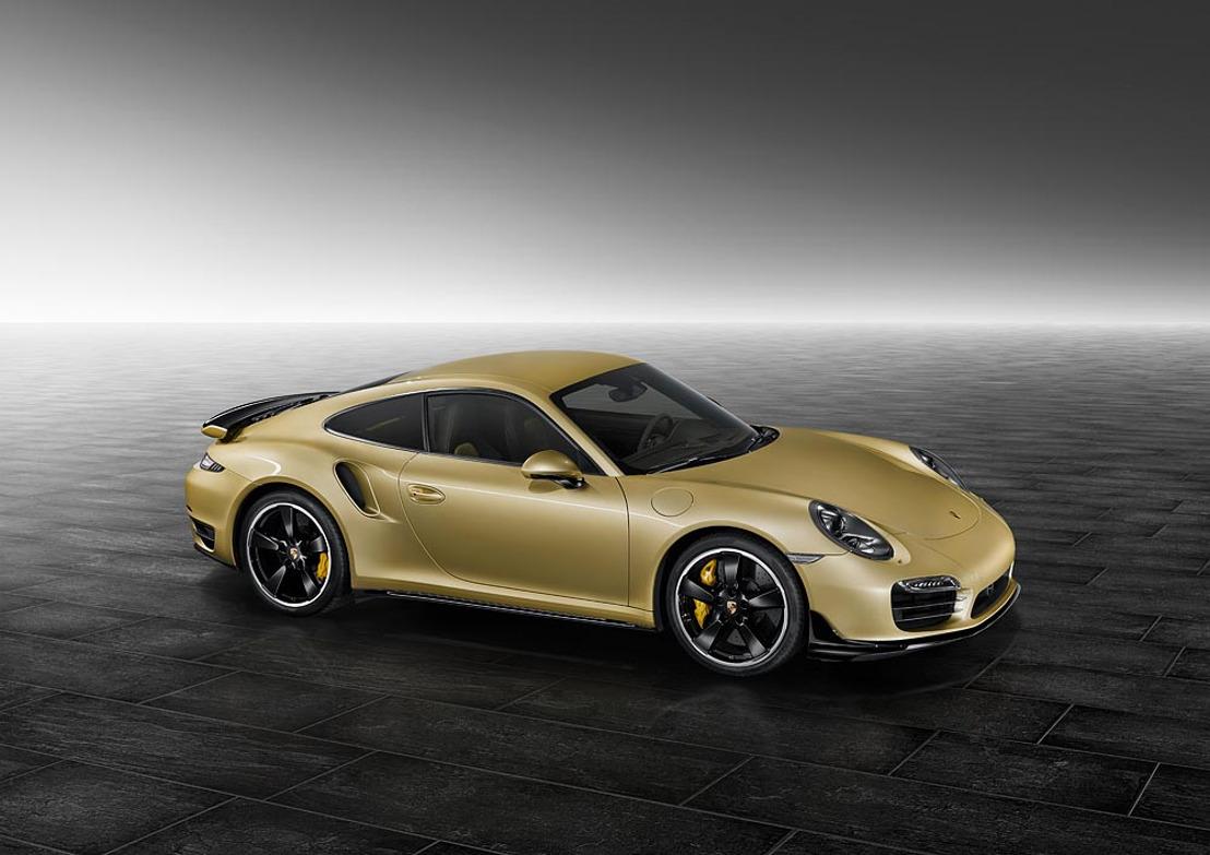 Aerodynamische finetuning van Porsche Exclusive
