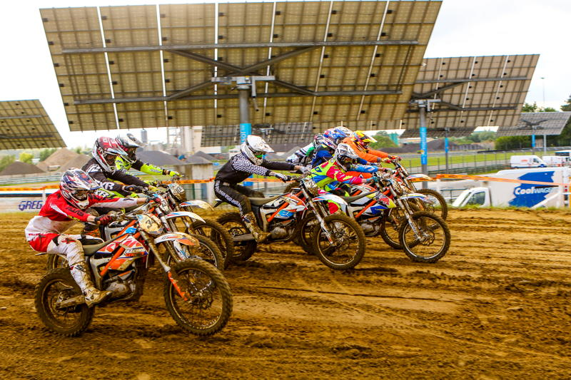 E-MX Race of champions action, credit: Gino Maes